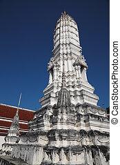 Wat Amphawa Chetiyaram in Samut Songkhram, Thailand