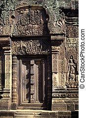 wat, angkor, cambodge