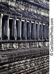 wat-, angkor, cambodge