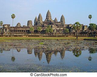 wat angkor, cambodge