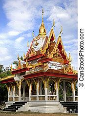 Wat Buppharam Rice Pagoda - Wat Buppharam\'s Rice Pagoda...