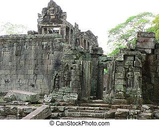 wat, cambodia., angkor