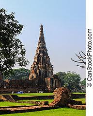 Wat Chaiwattanaram Temple, Ayutthaya, Thailand