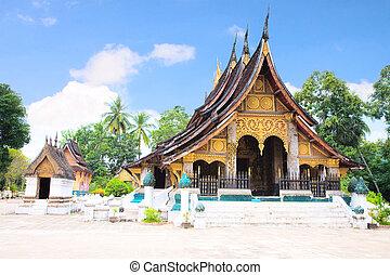 Wat Chiang Tong, Luang Prabang, Laos