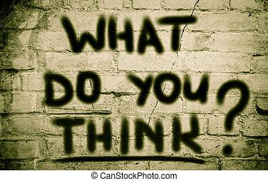 wat, concept, u, denken