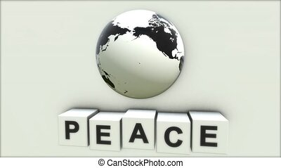 wat, concept, woord, vrede, peace., world.