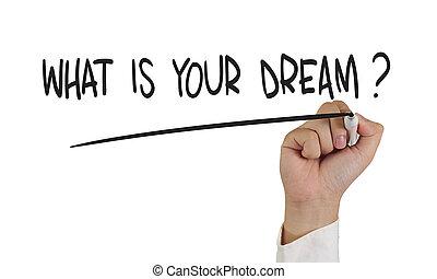 wat, droom, jouw, ?