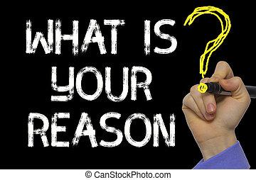 wat, hand, reden, text:, schrijvende , jouw