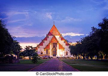 Wat in Ayutthaya, Thailand