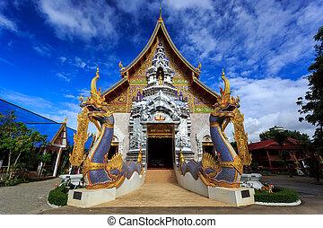 Wat Khrua Khrae (Wat Mangkol Thawararam) temple in Chiang Rai, Thailand