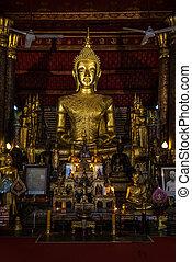 Wat Mai Suwannaphumaham, Ancient Temple in Luang Prabang, Laos