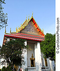 Wat Pho or Wat Phra Chetuphon ,The Temple of the Reclining Buddh
