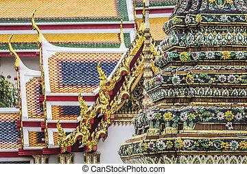 Wat Pho Temple at Thialand