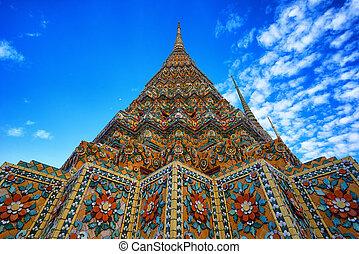 Wat Pho the thai temple in Bangkok, Thailand - Wat Pho the...