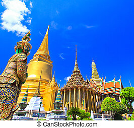Wat Phra Kaew, Temple in Bangkok, Thailand