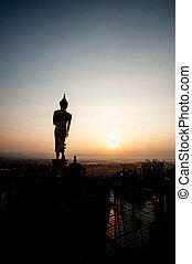 wat, phra, que, kao, noi, templo budista, e, site histórico,...