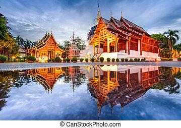 Wat Phra Singh in Thailand - Wat Phra Singh in Chiang Mai,...