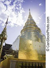 Wat Phra Singh Temple Chiang Mai Thailand