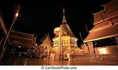 Wat Phra That Doi Suthep - Wat Phra That Doi Suthep in...