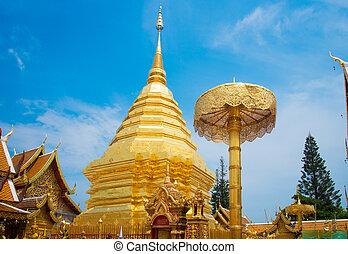 wat phra That Doi Suthep,Temple Chiang Mai Province