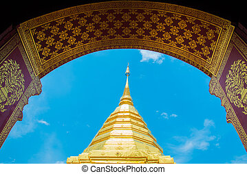 wat phra That Doi Suthep,Temple Chiang Mai Province