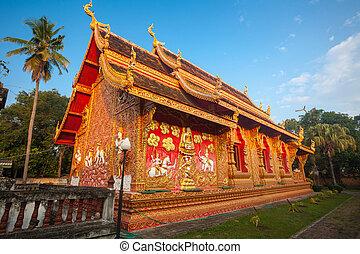 Wat phra that lampang luang, Thailand