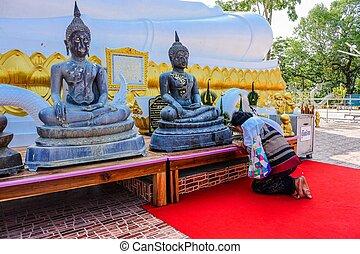 Wat Phu sing , Kalasin, Thailand