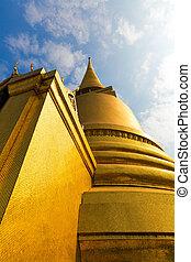 Wat Po Temple roof