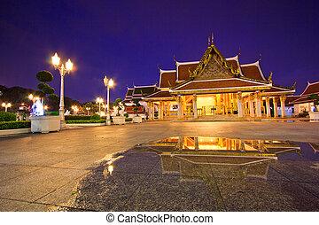 Wat Ratchanadda Temple in bangkok asia Thailand