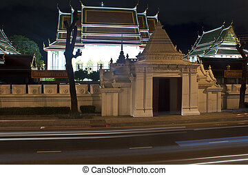 Wat Ratchanaddaram in Bangkok ,Thailand