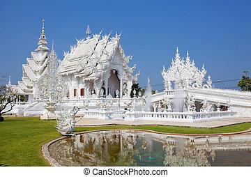 Wat Rong Khun, Chiang Rai province, northern Thailand