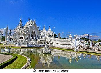 Wat Rong Khun,Chiangrai, Thailand