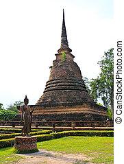 Wat Sa Si in Sukhothai Historical Park, Thailand