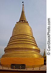 Wat Saket (Golden Mount) in Bangkok, Thailand