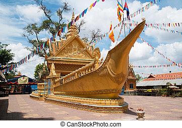 Wat Sampov Treileak in Phnom Penh, Cambodia