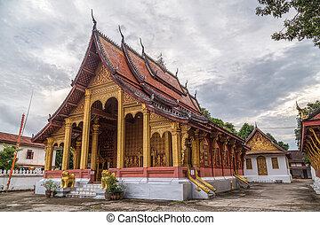Wat Sene temple in Luang Prabang, Laos