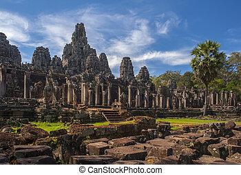 wat, temple bayon, angkor