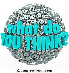 wat, terugkoppeling, suggestions, ideeën, bol, brief, u, denken