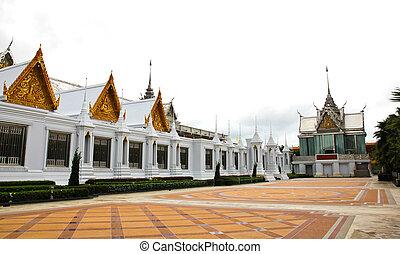 Wat Tha Sung Temple in Uthai Thani, Thailand.