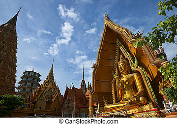 A Temple at Kanchanaburi, Thailand