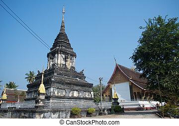 Wat That in Luang Prabang , Laos