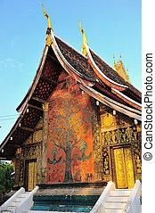 Wat xiang thong,temples in Laos