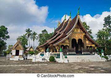 Wat Xieng Thong, Buddhist temple , The most important...