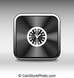 watch clock icon time vector timer illustration