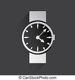 watch, clock web icon.