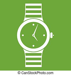 Watch icon green