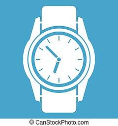 Watch icon white