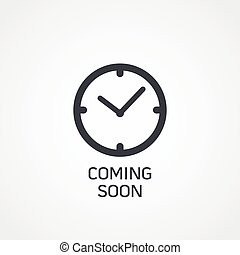 watch icon with coming soon text