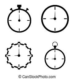 Watch Icons Set