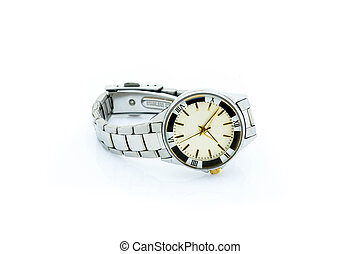 Watch isolated on a white.